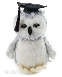 Academic Owl Plush Toy Stuffed Owl Graduate