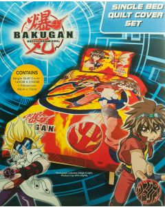 Bakugan Quilt Cover Set