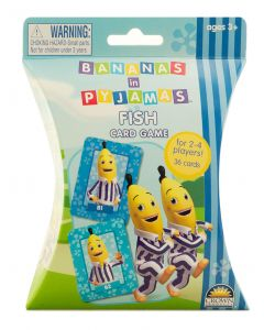 Bananas in Pyjamas Fish Card Game