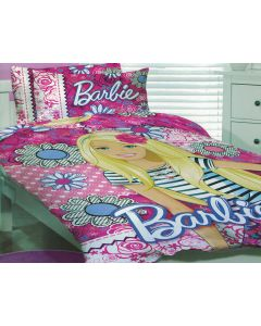 Barbie Quilt Cover Set