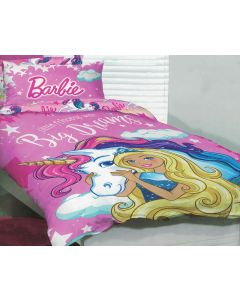 Barbie Unicorn Quilt Cover Set