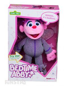 Sesame Street Bedtime Abby Cadabby Talking Plush Toy