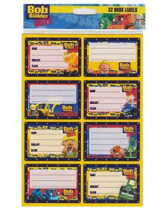 Bob the Builder Book Labels