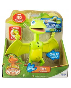 Enjoy the ultimate Dinosaur Train experience with Tiny and his Inter Action robot friends.