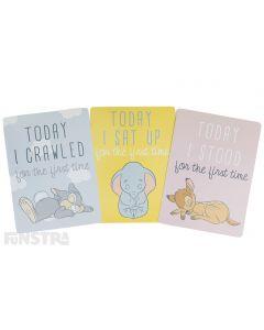 Disney Baby Milestone Cards