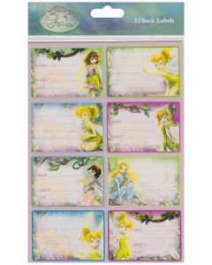 Disney Fairies Book Labels