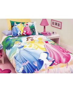 Disney Princess Garden Quilt Cover Set