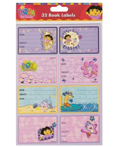 Dora the Explorer Book Labels