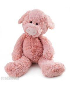 Flopsy Friend Farm Pig Plush Toy