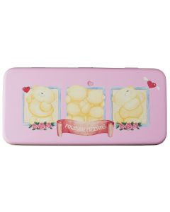 Forever Friends Pencil Tin Pink