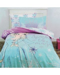Elsa Sparkle Like Magic Quilt Cover Set