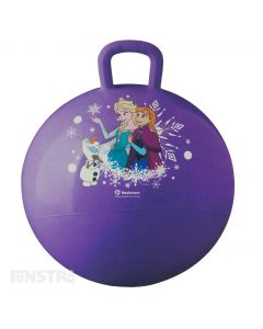 Frozen Hopper Ball Purple