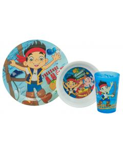 Jake and the Never Land Pirates Dinner Set