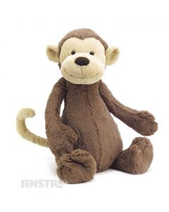 Jellycat Monkey Bashful Medium Plush Toy