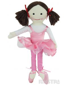 Twirl and dance with the Jemima doll, dressed in her ballerina tutu.