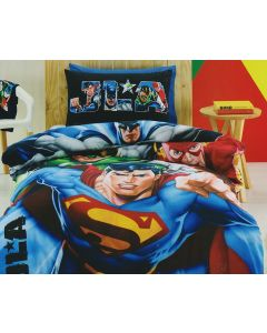 Justice League Quilt Cover Set