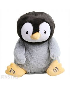 GUND Kissy the Penguin Animated Plush Toy