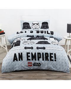 Lego Build an Empire Quilt Cover Set