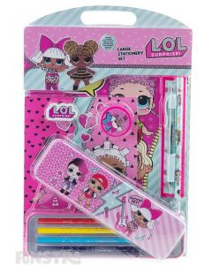 LOL Surprise Large Stationery Set