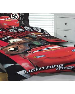 McQueen and Mater Friends Quilt Cover Set