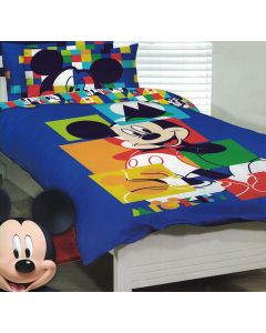Mickey Puzzle Quilt Cover Set