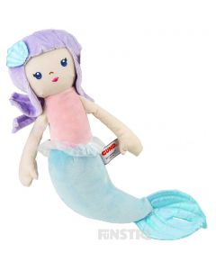 Misty is super soft and cuddly and makes a perfect gift for mermaid lovers.