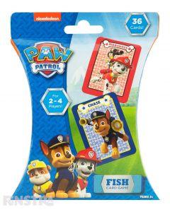 PAW Patrol Fish Card Game