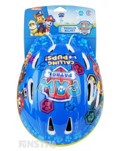 The rescue pups are ready for action as you ride your bike, trike, skateboard and scooter and wear this children's helmet.