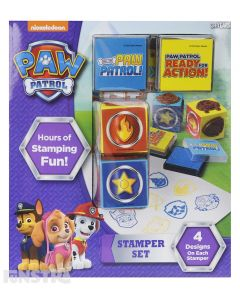 P.A.W. Patrol stampers...ready for action! A fun creative toy that features your favorite rescue dogs - Chase, Marshall, Skye and Everest for art and craft play.