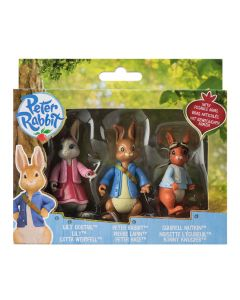 Peter Rabbit 3 Figures Set