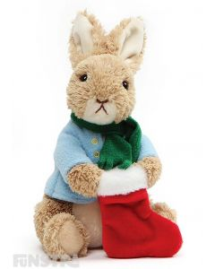 Peter Rabbit Christmas Stocking Plush Toy