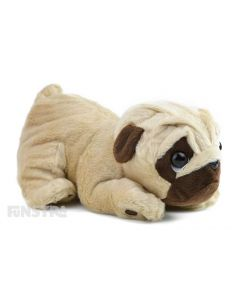 Pugsley Plush Toy With Sound