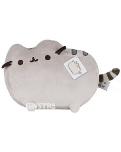 Classic Pusheen pose brings the adorable web comic to life with this super cute and cuddly stuffed toy from the GUND collection of Pusheen with soft textiles and embroidered features.