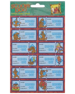 Scooby Doo Book Labels