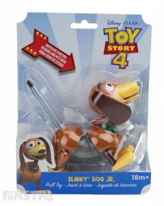 Watch Slinky Dog Jr stretch with this classic toy from Alex Brands as you pull this adorable hound along with the attached leash.