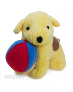 Spot loves to play with his ball and this fun mini beanie plush toy is a wonderful companion for children to read the story books or watch the TV shows of Spot's adventures.