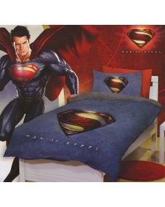 Man of Steel Quilt Cover Set