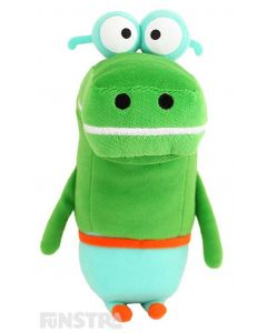 Happy is a crocodile and enjoys splashing in the water and the talking plush toy is the perfect companion anyone that loves to watch Duggee and the squirrels.