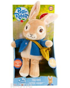 Peter Rabbit Talking Plush Toy