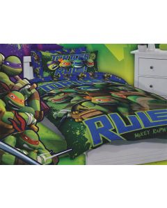 Turtles Rule Quilt Cover Set