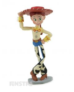 It's Jessie the Yodeling Cowgirl from Toy Story, a vintage pull string cowgirl toy and former member of Woody's Roundup Gang.