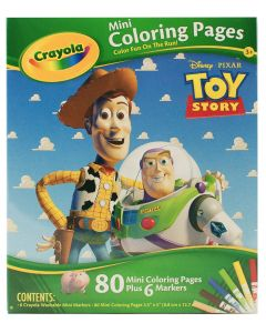 Crayola Toy Story Mini Coloring Pages
