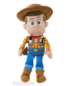 Super soft and cuddly Disney Baby plush toy of Sheriff Woody Price wears his signature cowboy costume and is sure to put a smile on the faces of children of all ages.
