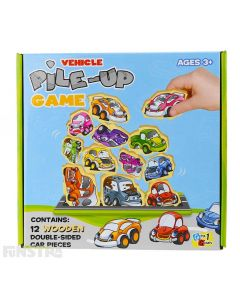 Vehicles Pile Up Game