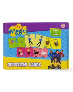 The Wiggles Opposites Cards Educational Game
