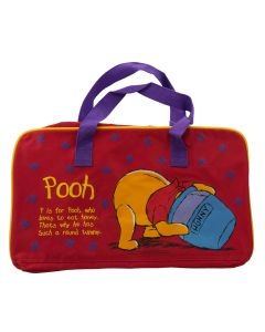 Winnie the Pooh Travel Bag Red