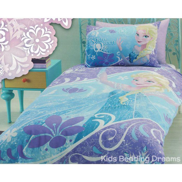 Elsa The Snow Queen Quilt Cover Set, Elsa Bedding Set Queen