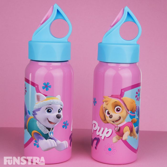 Front and Back of Drink Bottle