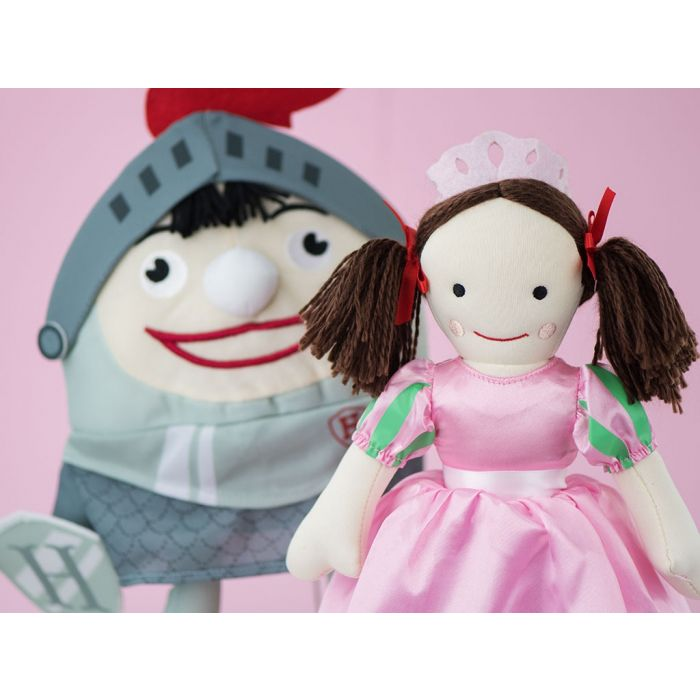 Collect Jemima dressed up as a princess in the Play School plush collection.