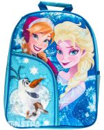 Anna, Elsa and Olaf will melt your heart in this beautiful wintry design
